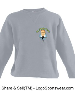 Russell Youth Crewneck Sweatshirt Design Zoom